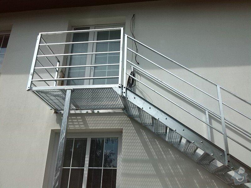 Kovové externí schodiště: IMG_20140705_150855