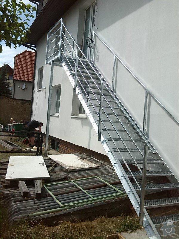 Kovové externí schodiště: IMG_20140705_150920