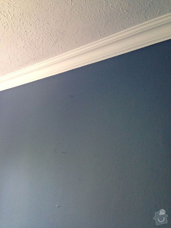 Malířské práce: stena