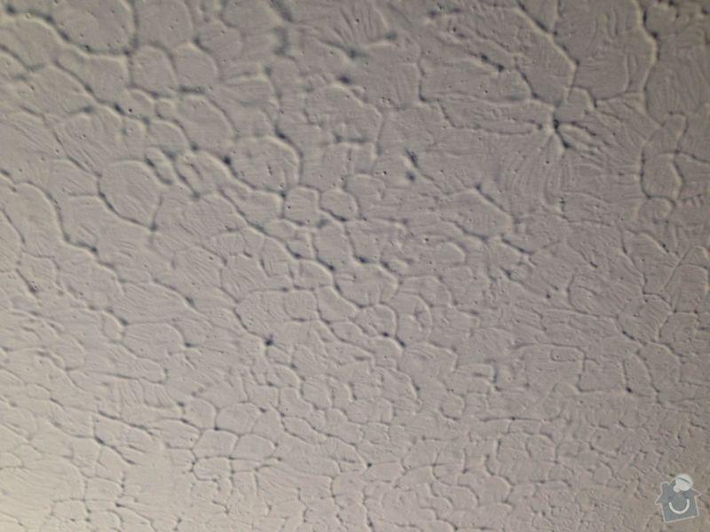 Malířské práce: strop