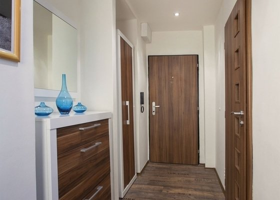 Troje interiérové dveře a vstupní dveře do bytu bezpečnostní