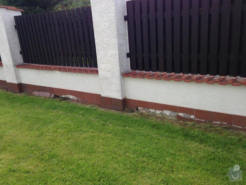 Opravy zděných částí plotů, sanace, omítky : IMG_1483