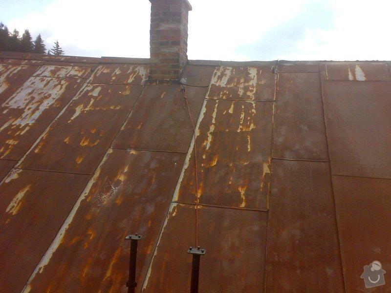 Rekonstrukce části střechy - červen / červenec 2014: 27062014313