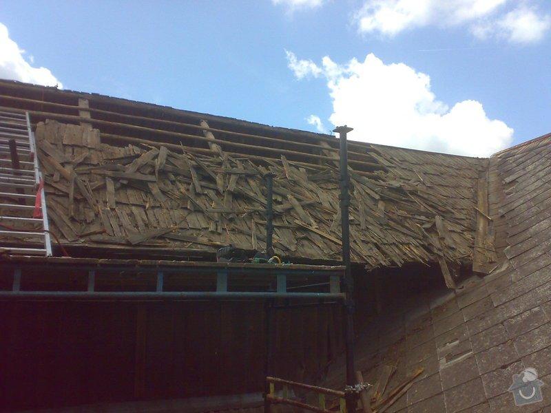 Rekonstrukce části střechy - červen / červenec 2014: 27062014312