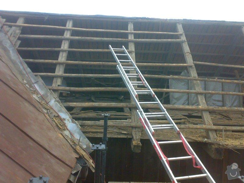 Rekonstrukce části střechy - červen / červenec 2014: 27062014316
