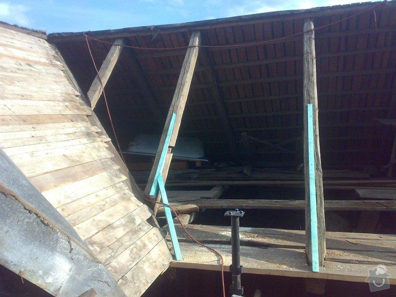 Rekonstrukce části střechy - červen / červenec 2014: 27062014318