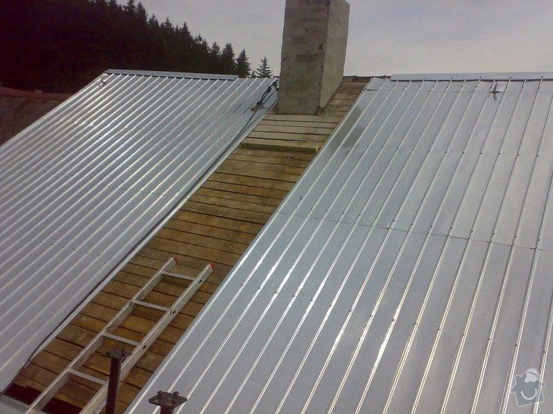 Rekonstrukce části střechy - červen / červenec 2014: 02072014321