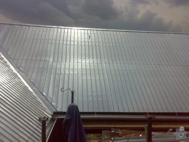 Rekonstrukce části střechy - červen / červenec 2014: 02072014322