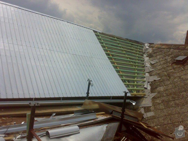 Rekonstrukce části střechy - červen / červenec 2014: 02072014323