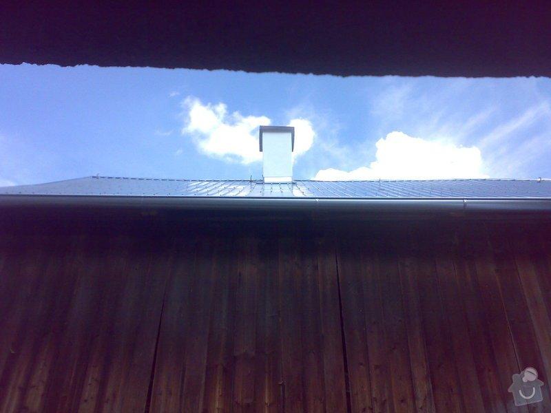 Rekonstrukce části střechy - červen / červenec 2014: 07072014332