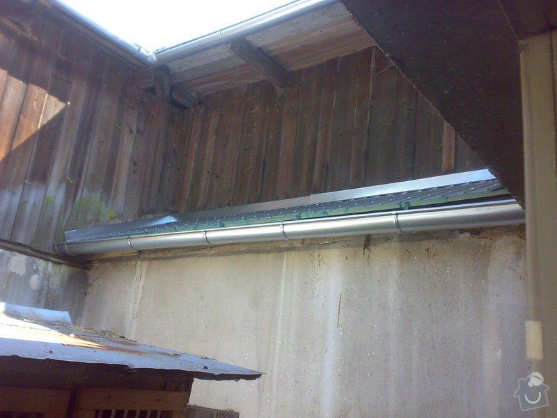 Rekonstrukce části střechy - červen / červenec 2014: 07072014333