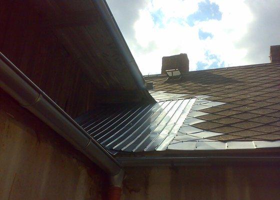 Rekonstrukce části střechy - červen / červenec 2014