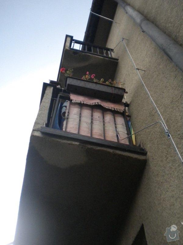 Rekonstrukce balkonů : DSCN4904