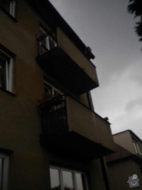 Rekonstrukce balkonů : DSCN4907