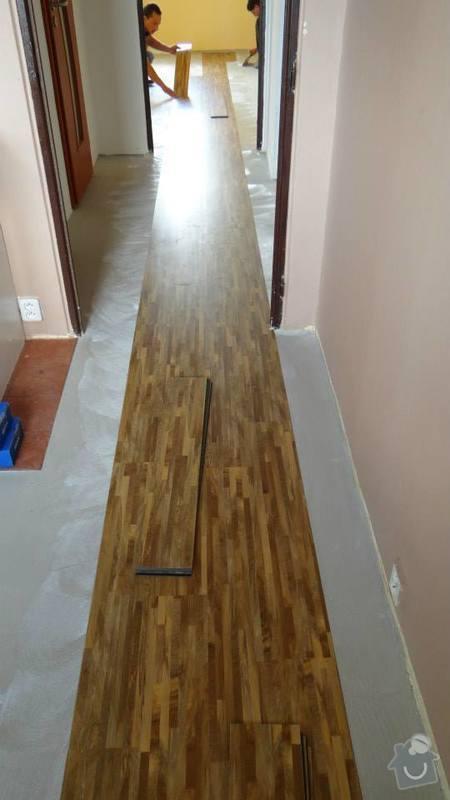 Pokládka vinylové podlahy Thermofix / Brno .: 10494612_666200950128123_2909108013313630118_n