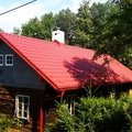 Demontaz krovu vystavba noveho krovu stresni krytina okapovy  satjam roof cervena hrubozrna mat