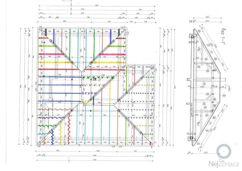 Zhotovení střechy u novostavby RD: img901