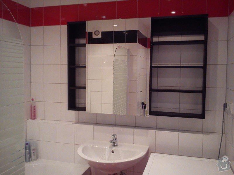 Zrcadlová skříňka+poličky do koupelny: DSC_0566