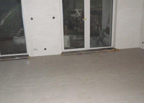Vylití podlah v RD, anhydrit