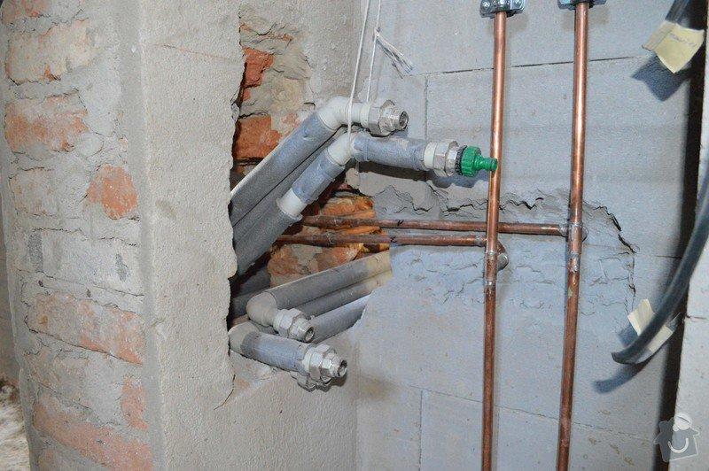 Kompletní montáž topení - rozvody: DSC_1019