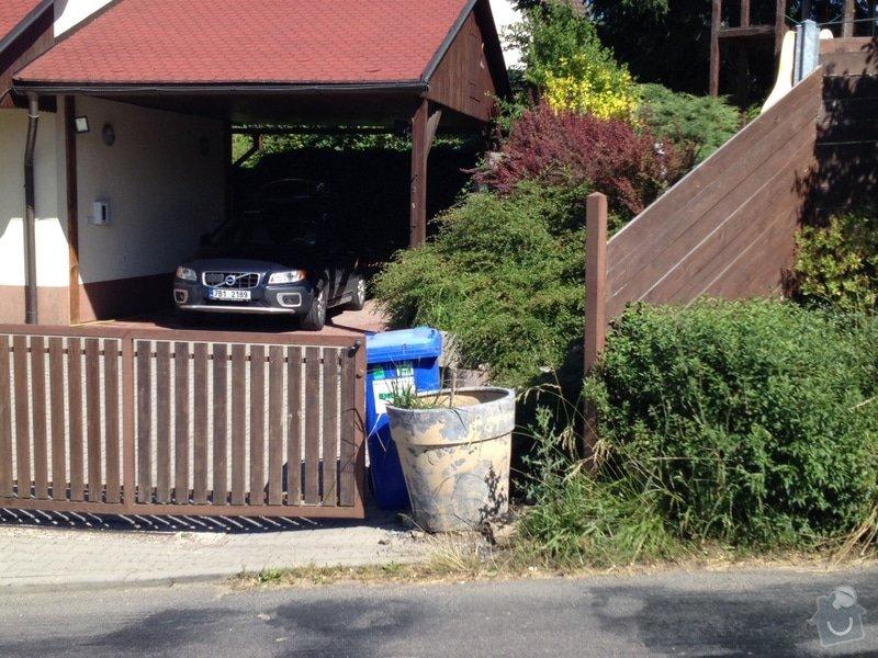Otočná branka na popelnici: Zamberk_brana