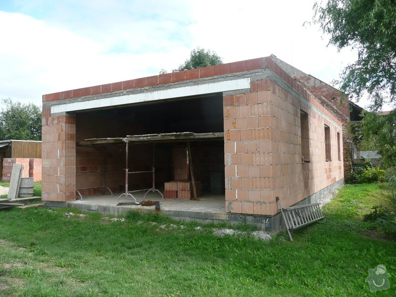 Novostavba garáže: P1040311