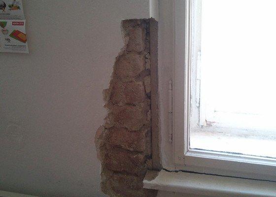 Oprava špalety okna