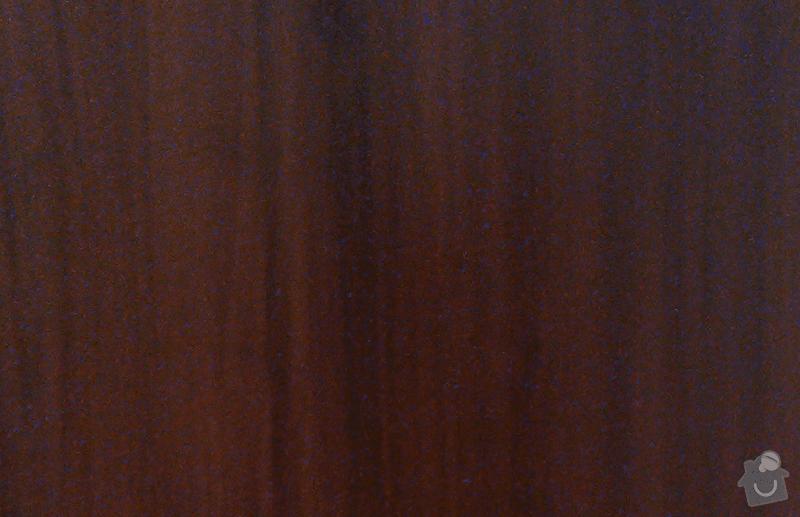 Vestavná skříň + předsíňová skříň: barva