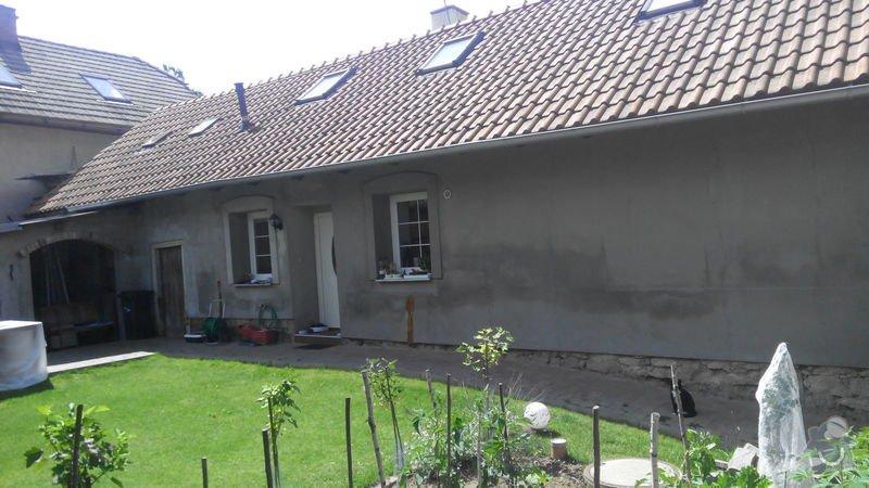 Zednické + klempířské práce na fasádě, okapech: IMG_20140712_114007