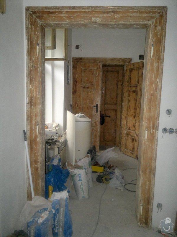 Lakování dveří a repase okna: 2014-07-10-1307