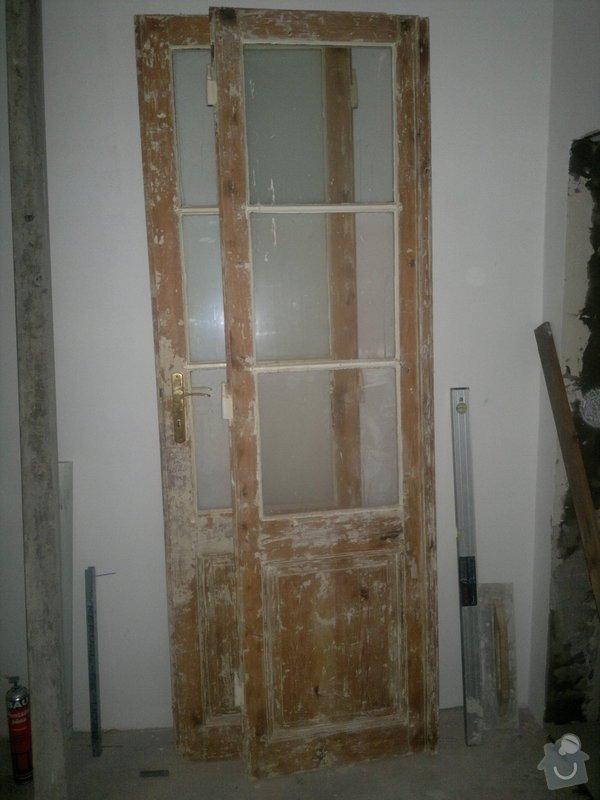 Lakování dveří a repase okna: 2014-07-10-1308