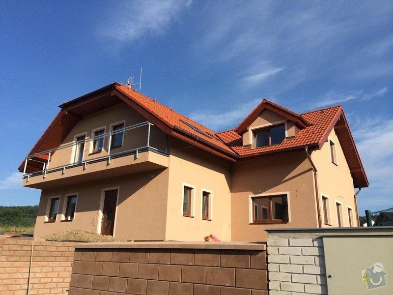 Dokončení rodinného domu: Exterier_po