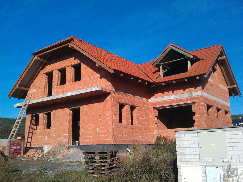 Dokončení rodinného domu: Exterier_pred
