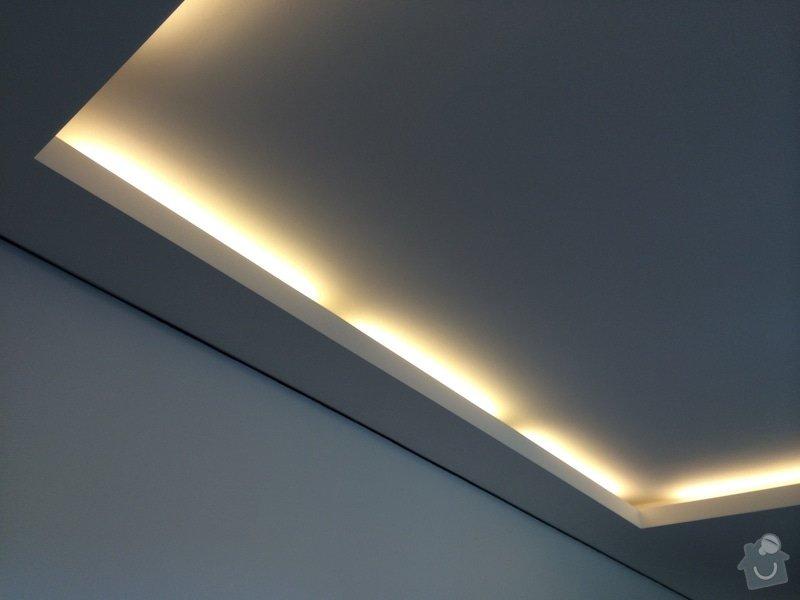 Dokončení rodinného domu: SDK_strop_svetlo