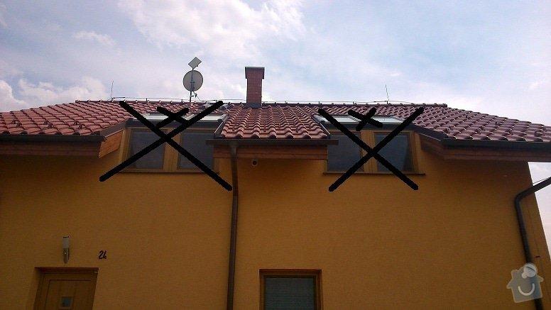 Úpravy RD - zrušení oken, vybourání nového, následná úprava fasády, zateplení, střechy, interiéru..: DSC_0177