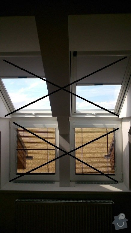 Úpravy RD - zrušení oken, vybourání nového, následná úprava fasády, zateplení, střechy, interiéru..: DSC_0182