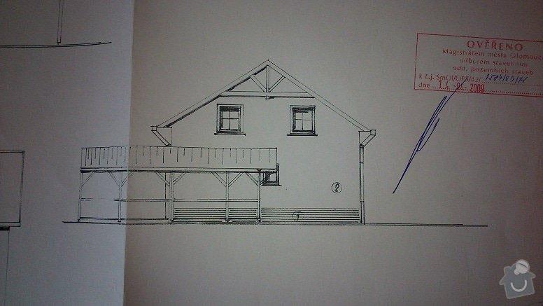 Úpravy RD - zrušení oken, vybourání nového, následná úprava fasády, zateplení, střechy, interiéru..: DSC_0185