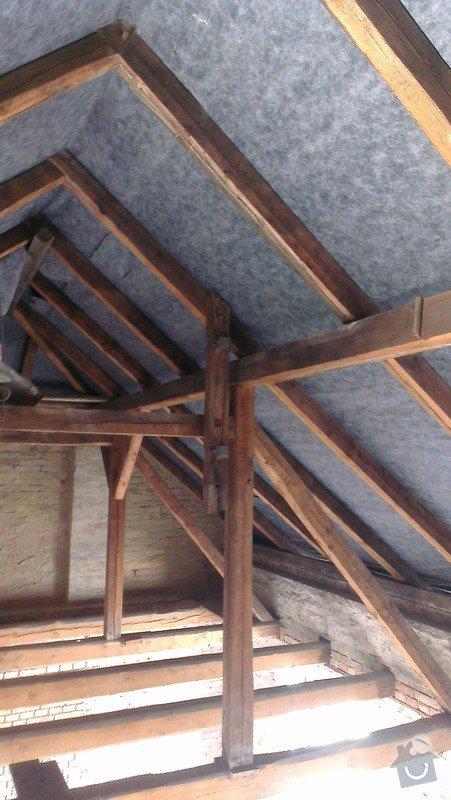 Zateplení a sádrokartony v podkroví 95m2: IMAG2109