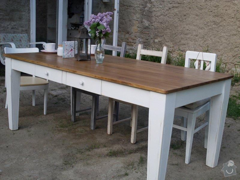 Zhotovení jídelního stolu: IMAG0952