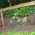 Oprava chodnicku schodiste zvyseni zidky betonovani zabradli  chodnicek 4