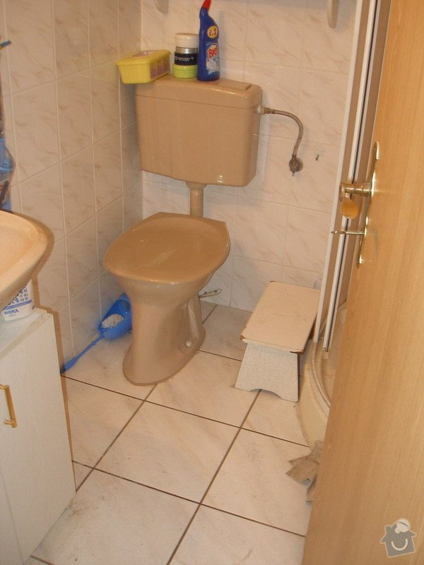 Rekonstrukce malé koupelny v RD - Ostrava: P1010004
