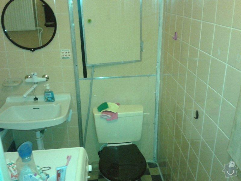 Rekonstrukce koupelny (zděné jádro) - 2,1x1,6 m: Koupelna_01