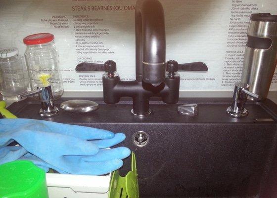Oprava kapajici vodovodni baterie IKEA viz. foto
