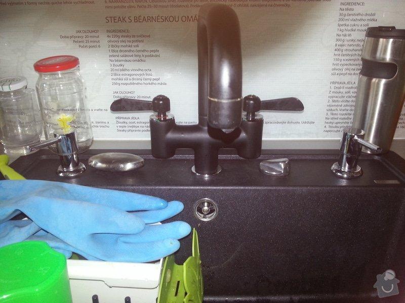Oprava kapajici vodovodni baterie IKEA viz. foto: kuchynska_baterie