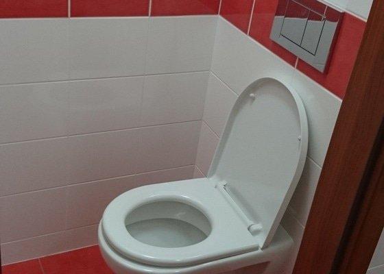 Rekonstrukce koupelny, WC a kuchyně