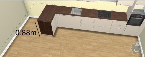 Pracovní deska do kuchyně: kuchyne1