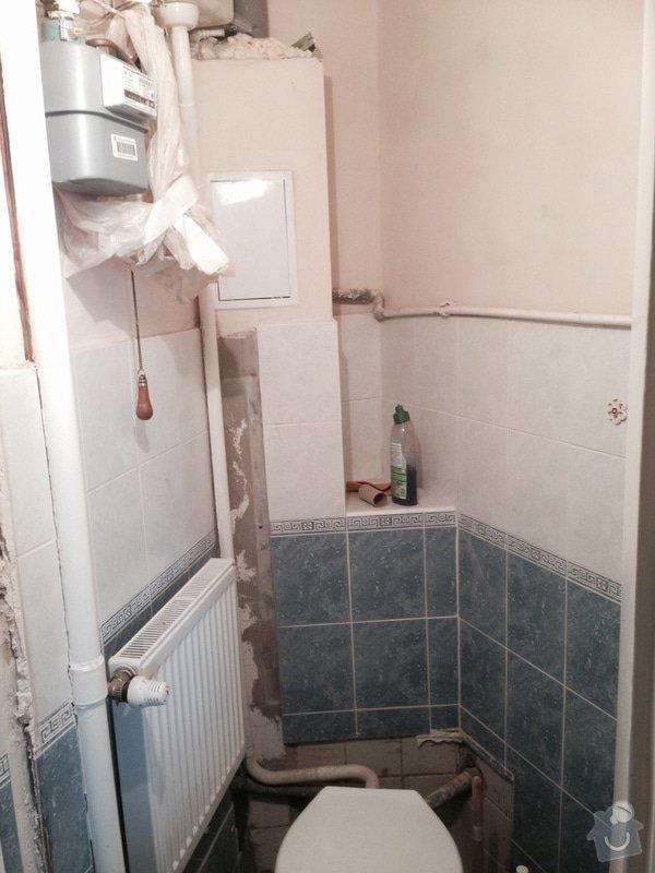 Vymena toalety, vymena dlazdic pod toaleteou, zmena typu splachovani, drobne zednicke prace: photo_2