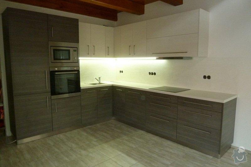 Návrh a výroba kuchyňské linky: vod_1
