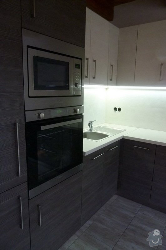 Návrh a výroba kuchyňské linky: vod_2