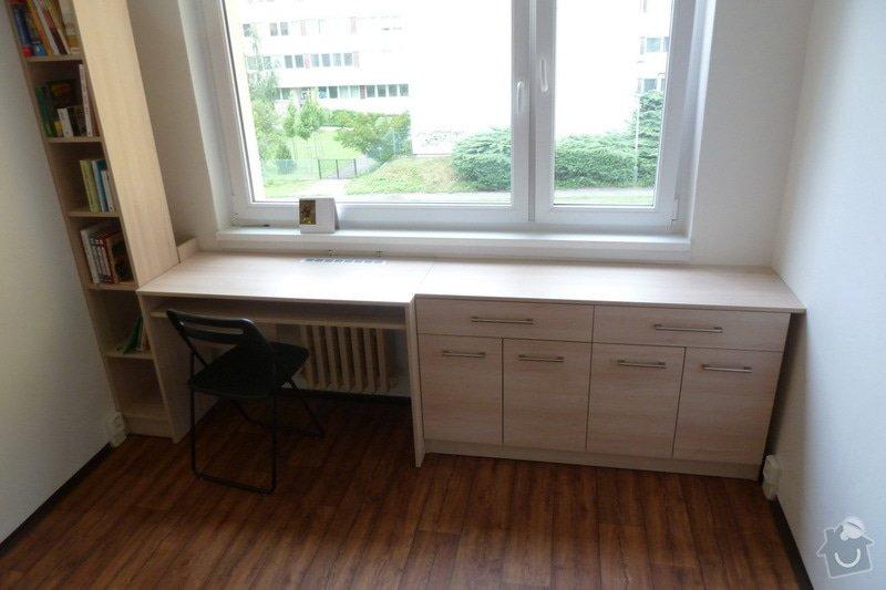 Návrh a výroba vestavné skříně do studentského pokoje: studentsky_pokoj